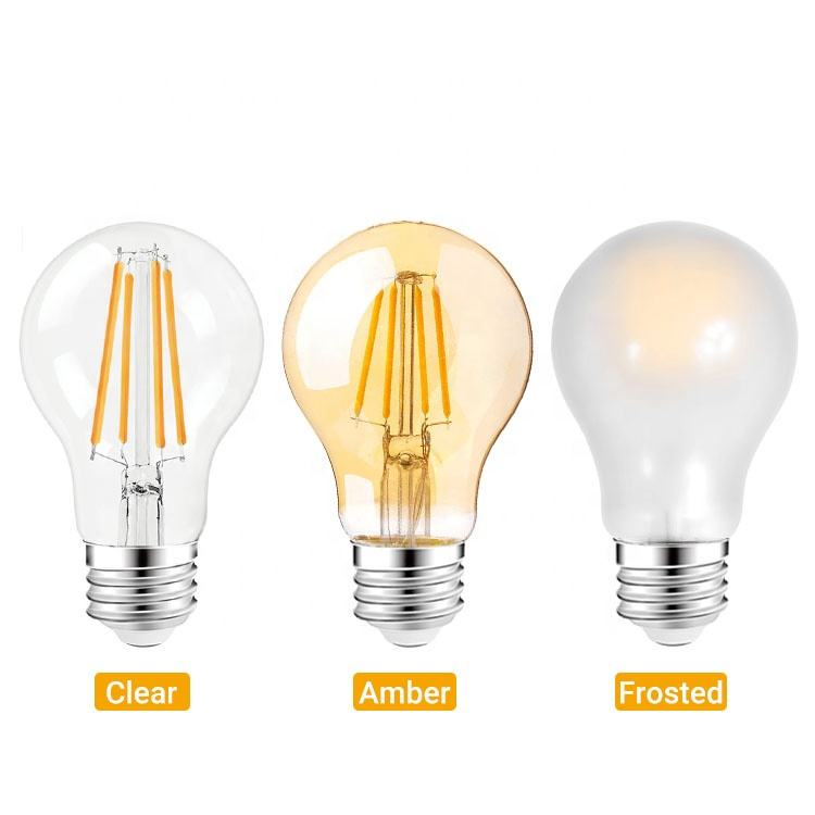 OEM Antique LED Filament Bulb A60 4ワットReplace 40ワットIncandescent Bulb AC120v 230v For Home Hotel Library Shop Decoration