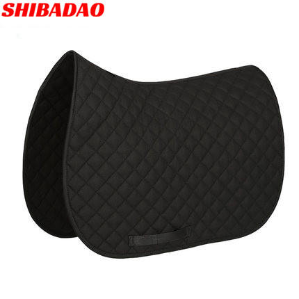 All Purpose Saddle Pad Equestrian Bareback Riding Pad Horse Riding Pad for Horse Riding Show Jumping Performance Equipment