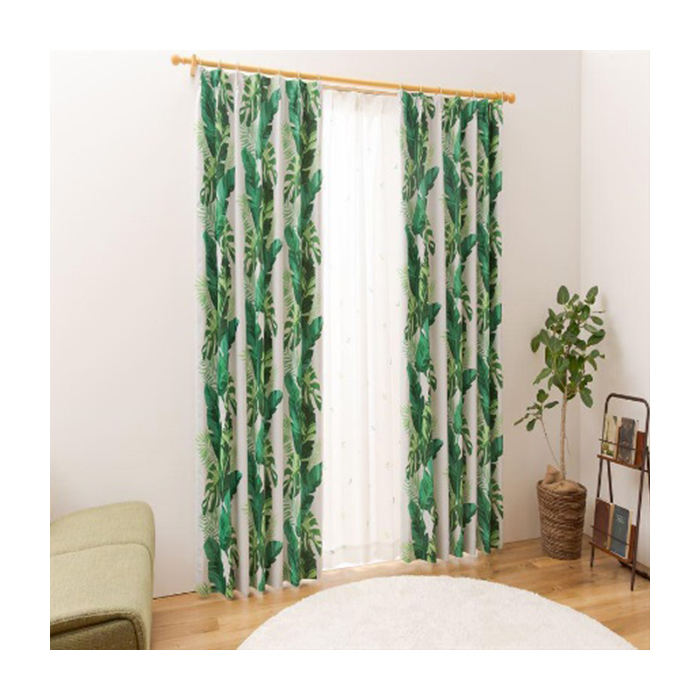 Japanese PM 2.5 removal good quality cheap backdrop cotton curtains