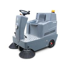 industrial floor cleaning machines electric ride on vacuum sweeper