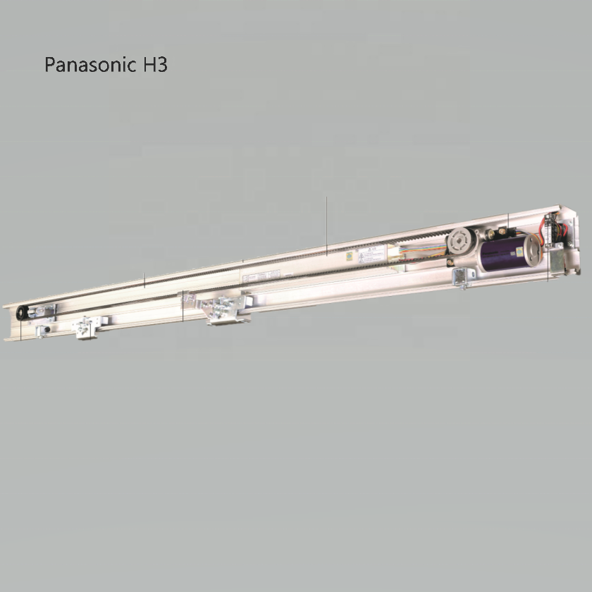 Panasonic H3 DC motor auto door system mechanism automatic wooden sliding doors operator