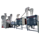 high quality solid waste plastics separator silicon rubber sorter