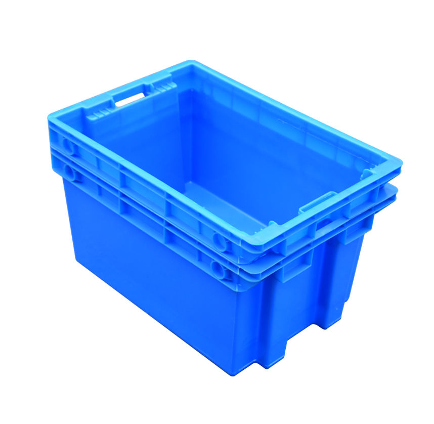 Plastic nesting crate turnover box for vegetable and fruit