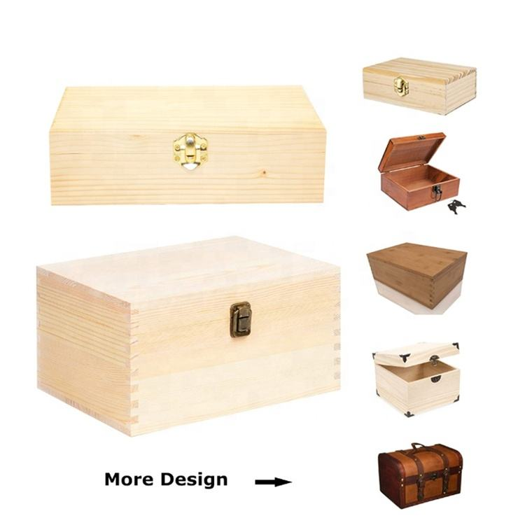 Luxury Solid Christmas Wooden Gift Box