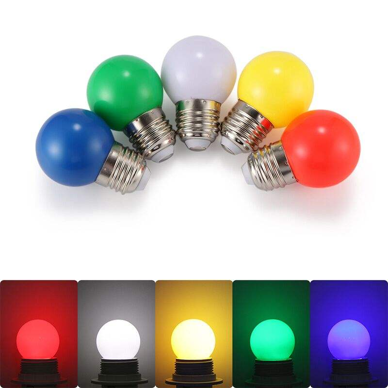 G45 E27 B22 mini multi color globo forma LED Bombilla de la lámpara para la decoración de la casa