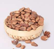 Edible pine seeds with shells pinoli pignoli nuts