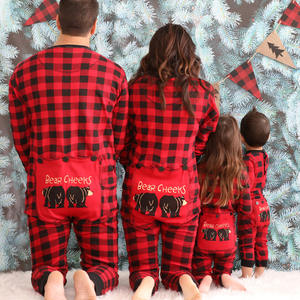 Christmas accessories Fine workmanship bolas navidad family kids cheap christmas pajamas
