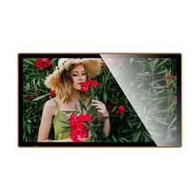 Flexible Video 49 Inch Wall Mounted Lcd Infrared Touch  display screens for advertising