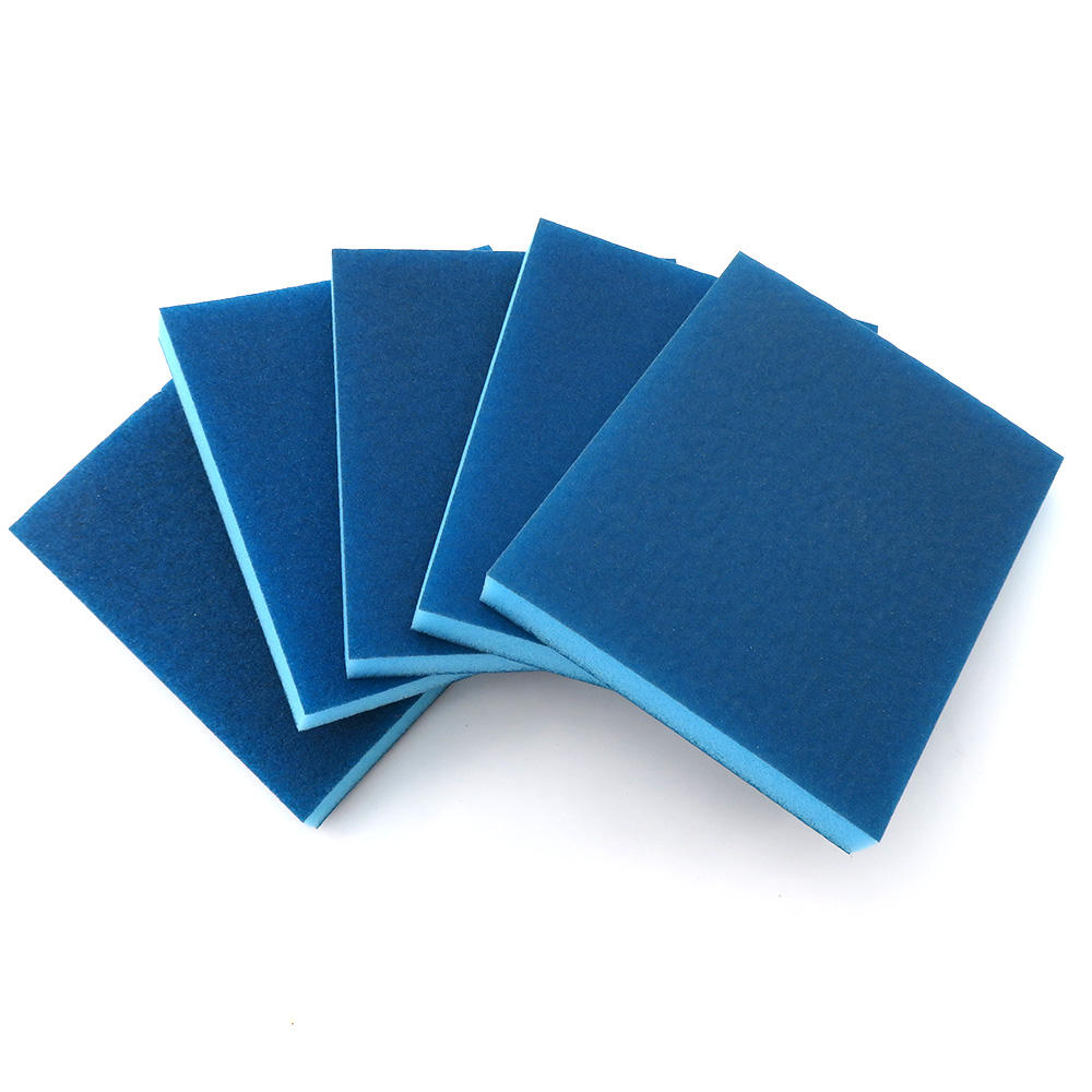 100x120MM Hook and Loop Sandpaper Sanding Sponge 100/120/180/220/240 Grit for Polishing and Grinding