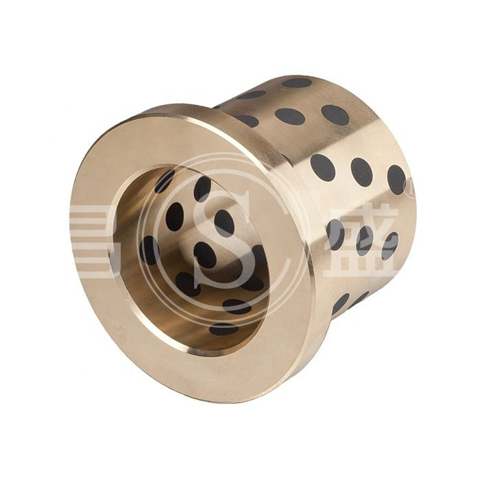Metric metallic self-Lubricating bearing bronze graphite guide bushes