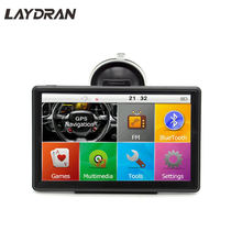 7 inch Portable GPS Navigation WINCE System with 512MB RAM 8GB ROM Capacitive Screen and 2019 Newest Map