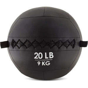 Harbour Factory Wholesale Custom Medicine Ball Soft Exercise Leather Wall Ball