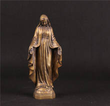 catholic religious statues bronze / brass virgin mary statue copper virgin mary statues decoration for sale