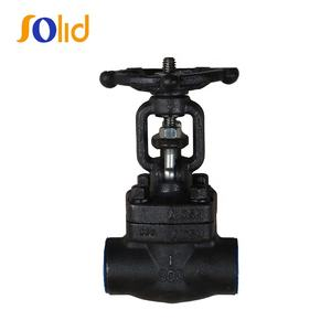 API Forged Steel A105 Gate Valve With NPT