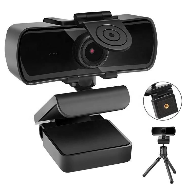 Universal Free Driver USB 1080 1080p Webcamフルhd Web CameraためPC Laptop Built-MicrophoneでPrivacy Cap