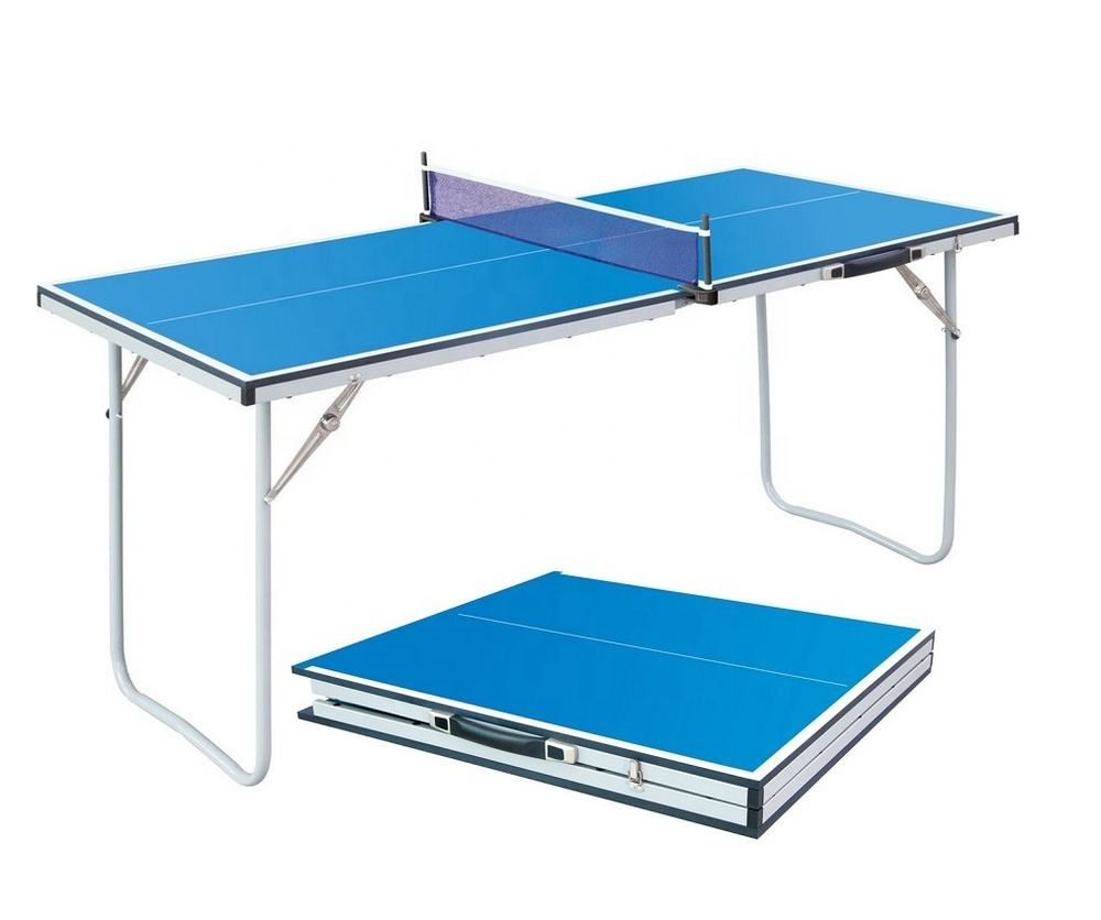 Small size folding table tennis table portable mini ping pong table for kids children