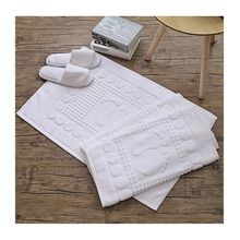 Wholesale Luxury Anti Slip Absorbent Hotel Bathroom Foor Foot Towels Bath Mat