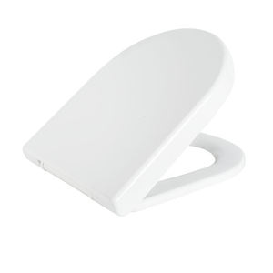 European standard customized color and size D shape toilet seat
