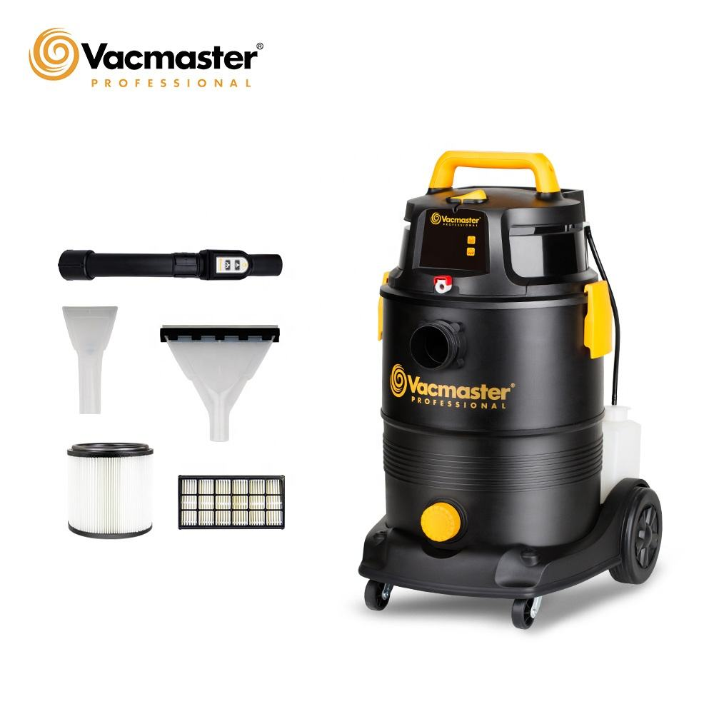 Vacmaster commercial 2 stage motor 2 in 1 canister shampoo wash aspiradora wet and dry industrial car vacuum cleaner, VK1330PWDR