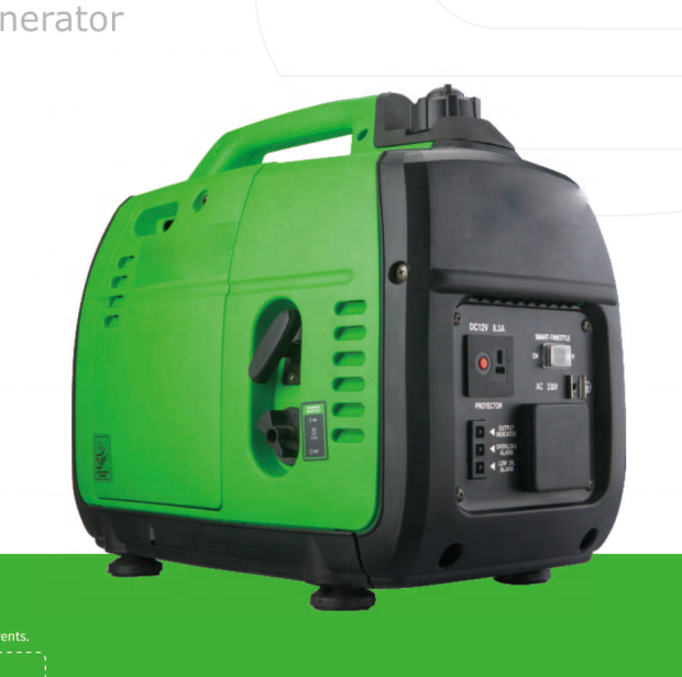 1KW generator portable EU10I same style petrol generators 50HZ 220V recoil start convenient for home use, hotel use, camping.