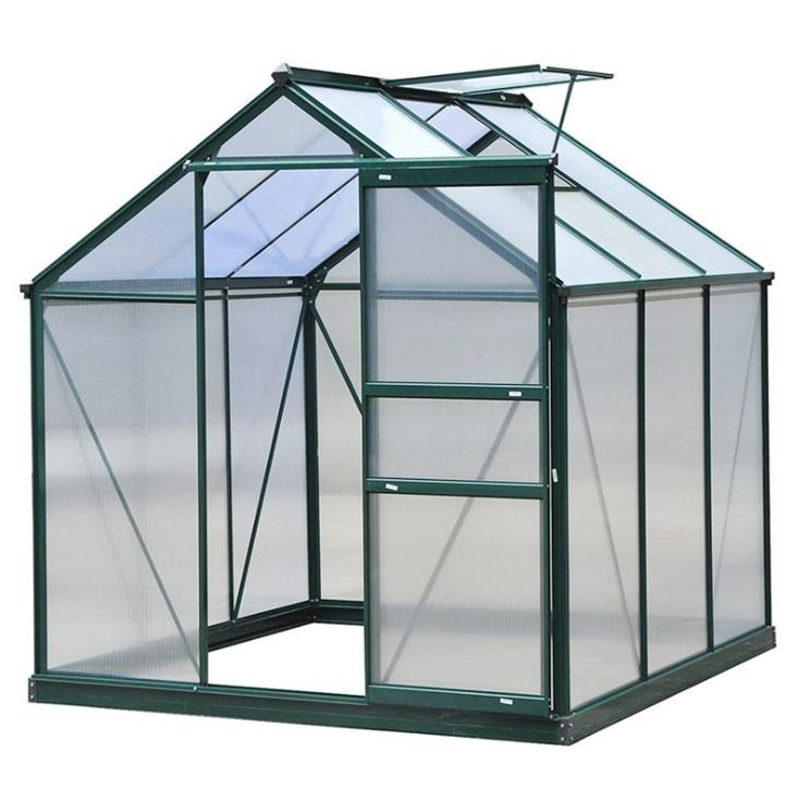 design home garden use PC greenhouse polycarbonate natural greenhouses