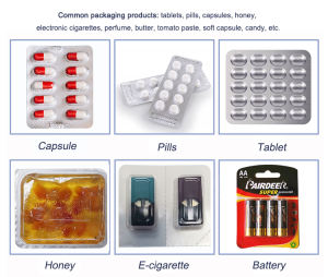 DPP 250 Alu Alu Automatic Pill Tablet Capsule Blister Packing Machine