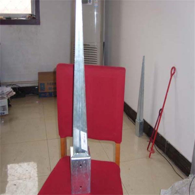 Galvanized Steel Pole Anchor Concrete Screw