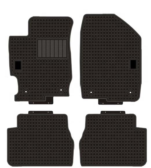 Factory wholesale best quality PVC latex Car Mats custom fit for MAZDA 6 2007 2008 2009 2010 2011 2012 2013 2014