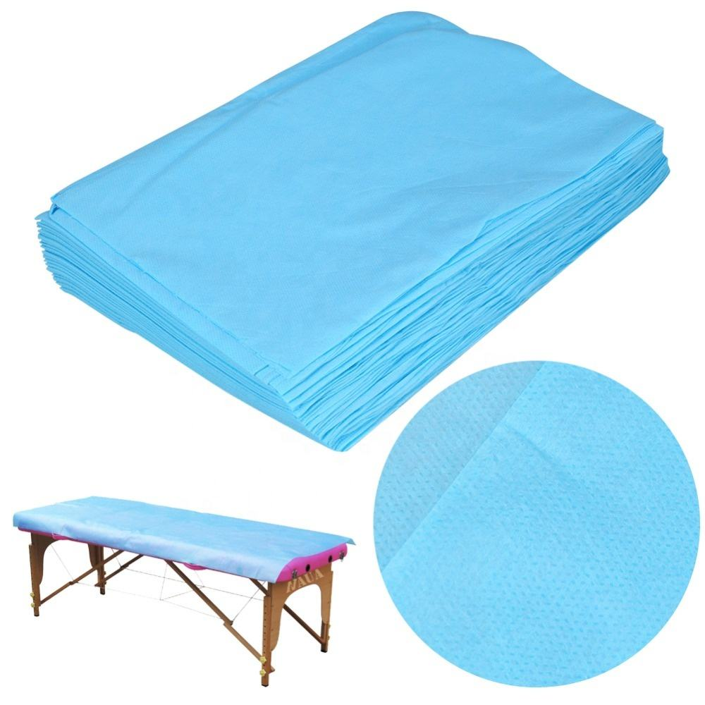 Medical disposable PP CPE bed cover protective bed sheet used in operating room beauty salon yoga