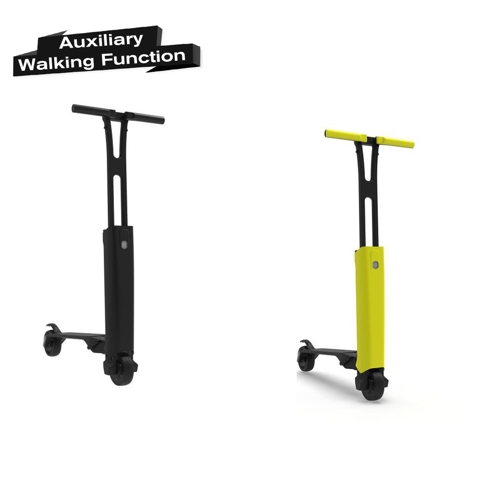 LED display 2 wheel foldable electric motor scooters Detachable battery