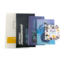 Wholesale recycled material customized printed manual catalogue printing