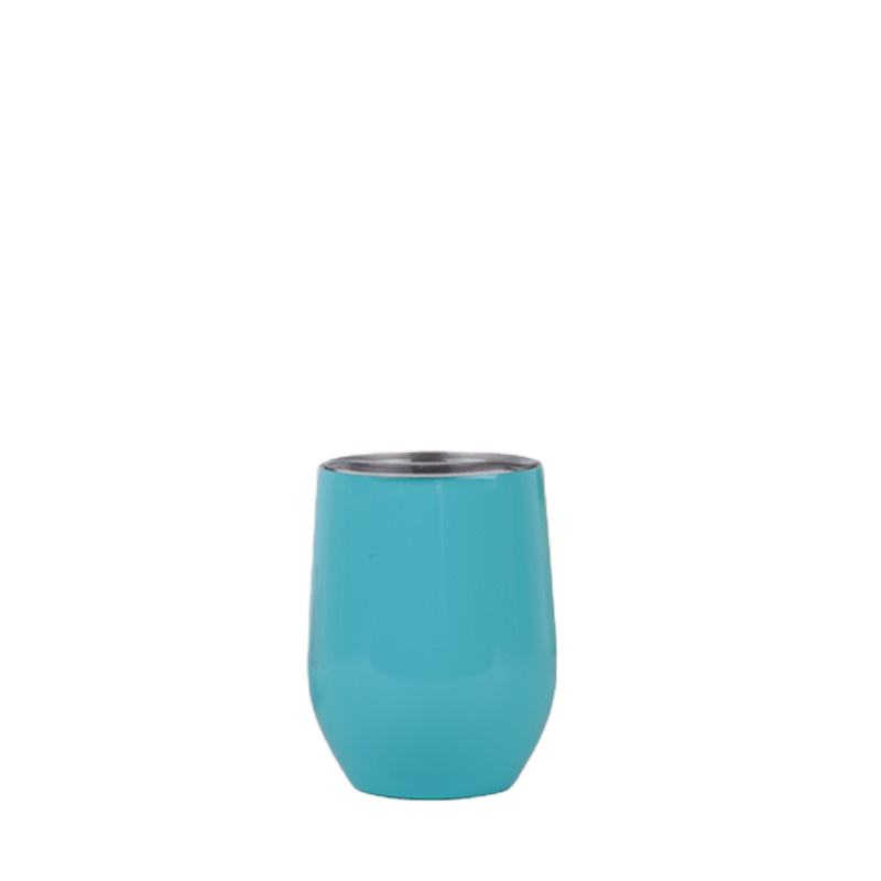 00:01 00:10 View larger image 2019 Wholesale cheapest price 9oz 12oz Egg Metal Solid Cups Tumbler Egg Shape Insulated with Lid