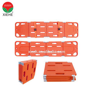 Commercial furniture cpr plastic hospital foldable spine board
