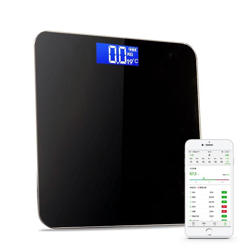 Personal Smart Body Scale 180KG Scale for Body Weight and Body fat Machine Digital Weighing Bathroom Digital Scale