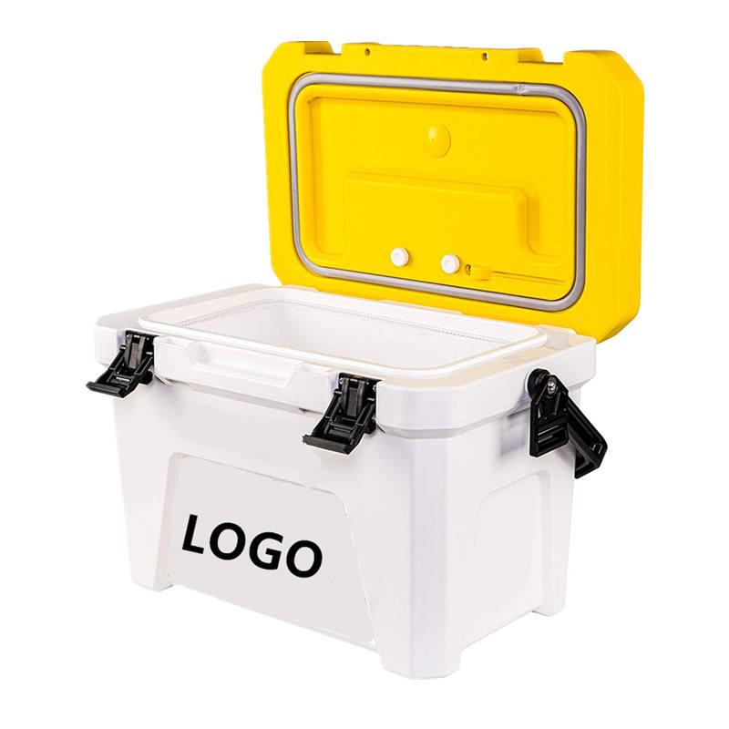DEWIN Live Bait Box tragbarer K/öder Aufbewahrungskoffer Wurm Angelger/ät Live Bait Box mit Zwischenschicht und Pinzette
