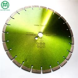 Green Laser Welding Key Slot Segmented 14 in Concrete Blades