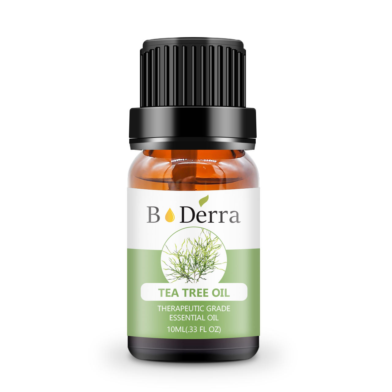 BoDerra 10ml Private Labeling Wholesale Bulk Prices Organic Natural 100% Pure Essential Acne Tea Tree Oil for Skin