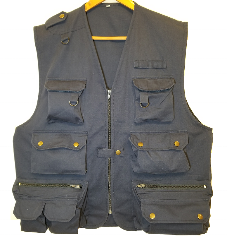 Navy Allround photograph waistcoat Black Trucker working vest TC Outdoor fishing vest Casual Hunting kidney protection waistcoat
