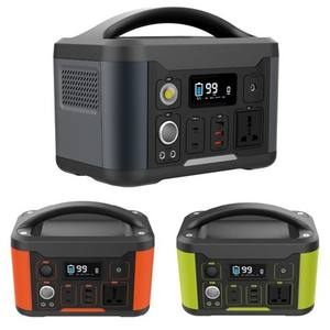 139200mAh 500W Portable Power Station 110/220V AC Outlet DC 12/24V Rechargeable Battery Camping Solar Generator