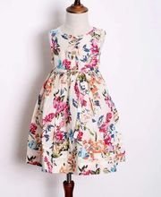 Fashion Children Dress stock kids clothes clearance
