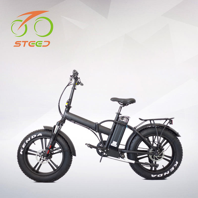 2020 Super 1000W Folding Xe Đạp Điện <span class=keywords><strong>20Inch</strong></span> Fat Beach Cruiser