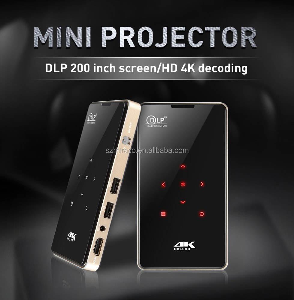 2018 новый продукт P09 1g8g s905x android 6 с HD-MI в конкурентоспособной цене мини-проектор