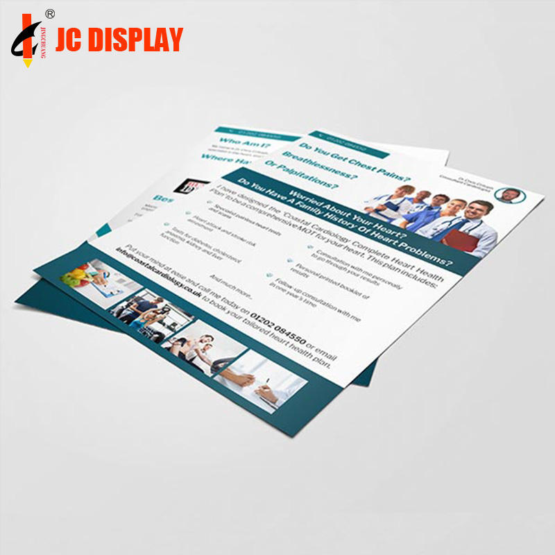Cheap instruction manual flyer /booklet/brochure printing promotional leaflets
