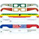 Cheap OEM Paper 3D glasses Red Blue Lens 3D Glasses Watching 3D movie film games for online sale