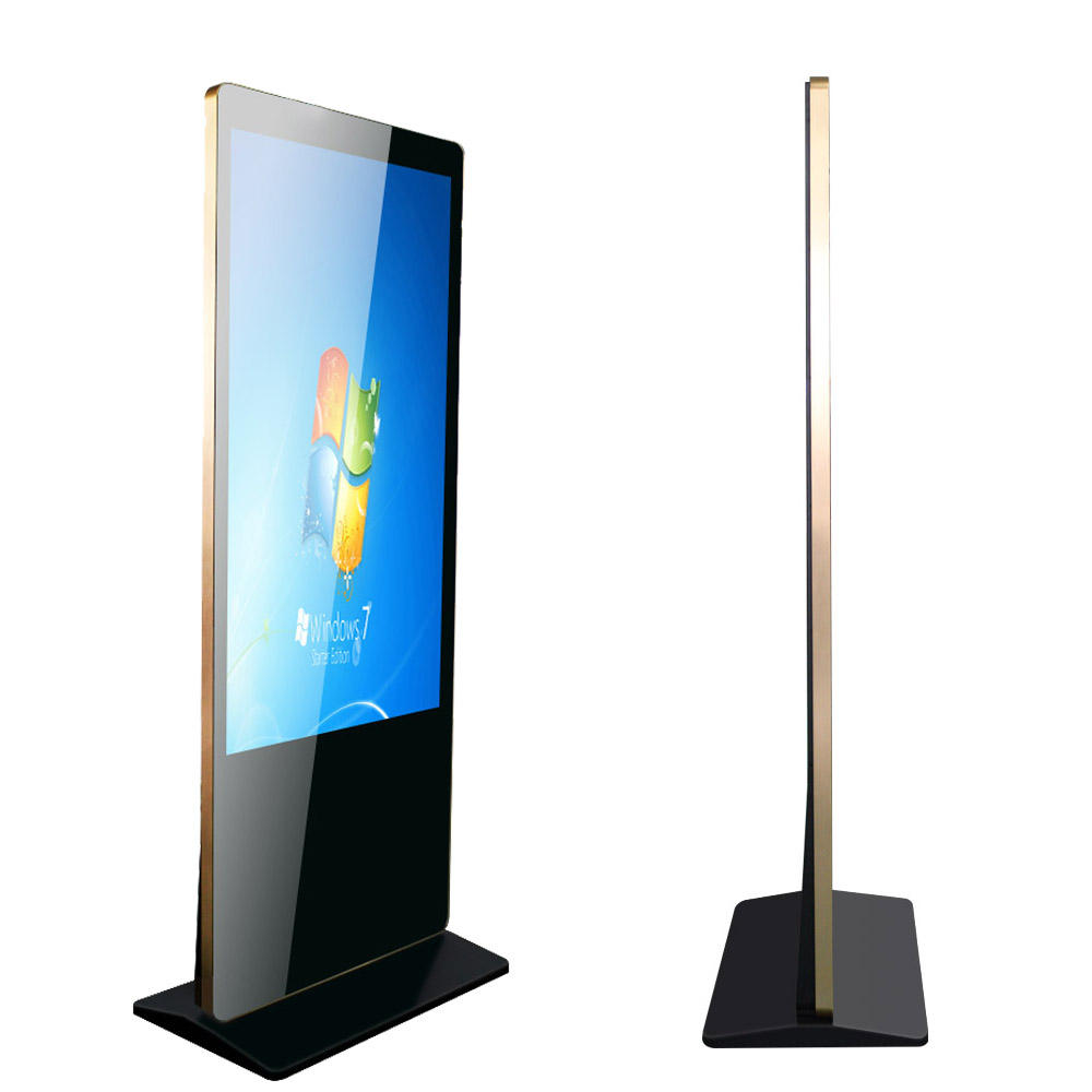 55 pollice <span class=keywords><strong>lcd</strong></span> touch screen media player android supporto da pavimento digital signage
