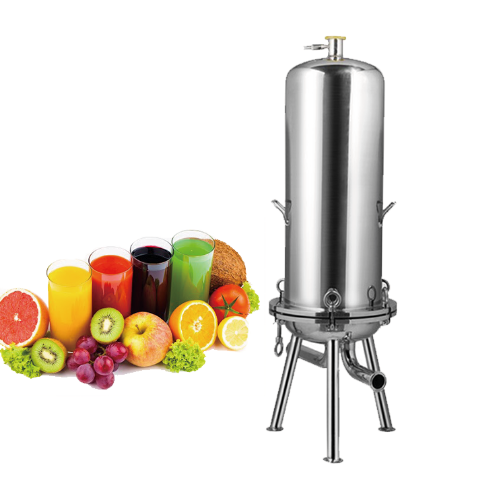 "Food grade 10"" Tri Clamp Stainless Steel Cartridge Filter After Grape Wine Press Machine with factory price"