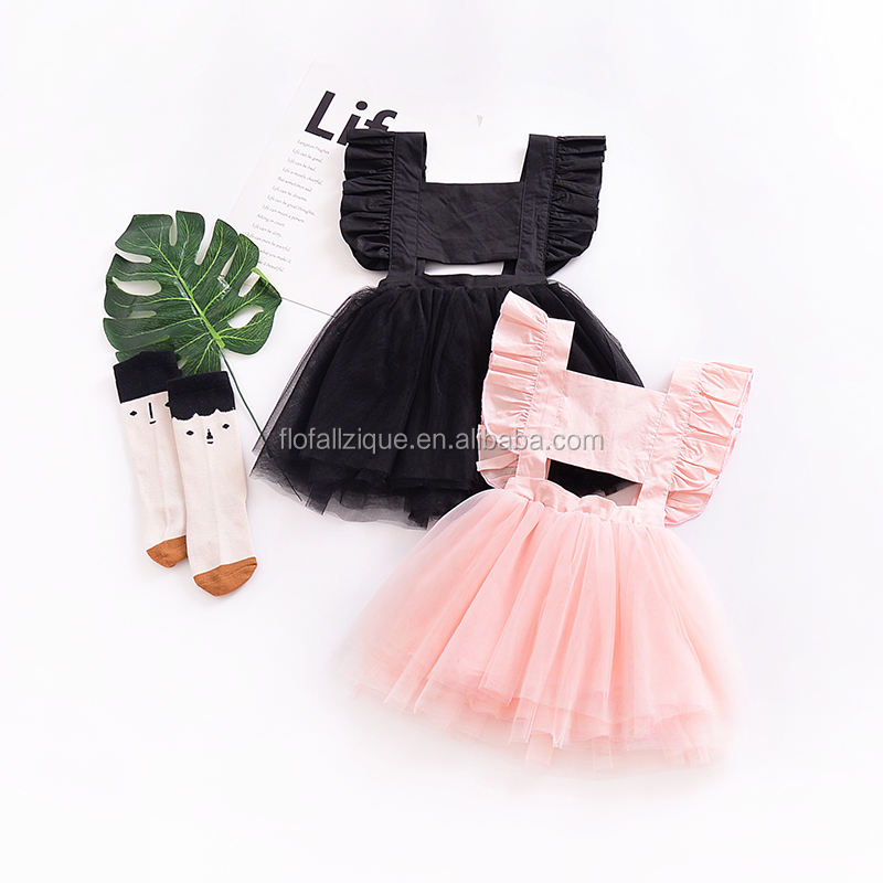 RTS 2019 Summer Toddler Clothing Infant Princess Party Frock Children's Beautiful Baby Girl Dresses