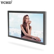 wall mounted advertising display monitor lcd wall mounting all in one pc digital signage