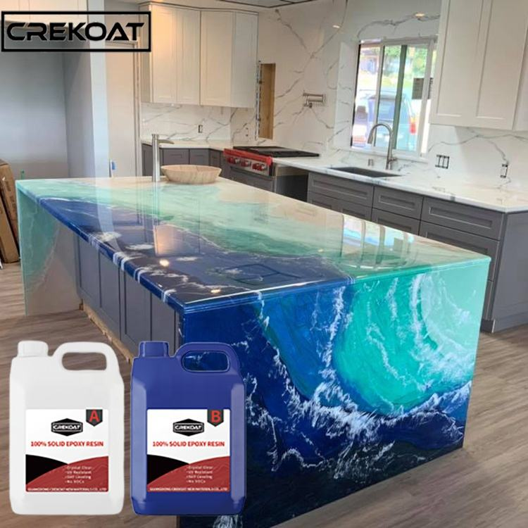 Factory Sale Top Quality Liquid Epoxy Resin Kitchen Countertop Wood Table Top Epoxy Resin for Countertops