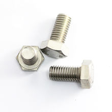 Hardware fastener galvanized 10.9 hex bolt